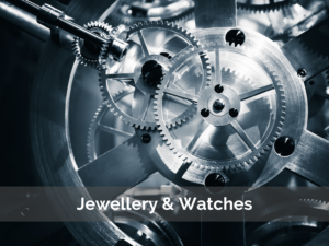 Jewellery & Watch insurance - Gloucestershire