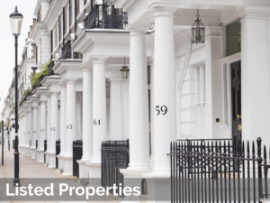 John Morgan Partnership - row of listed regency properties